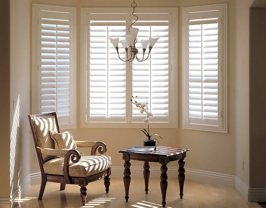 bay window shutters in Oxford