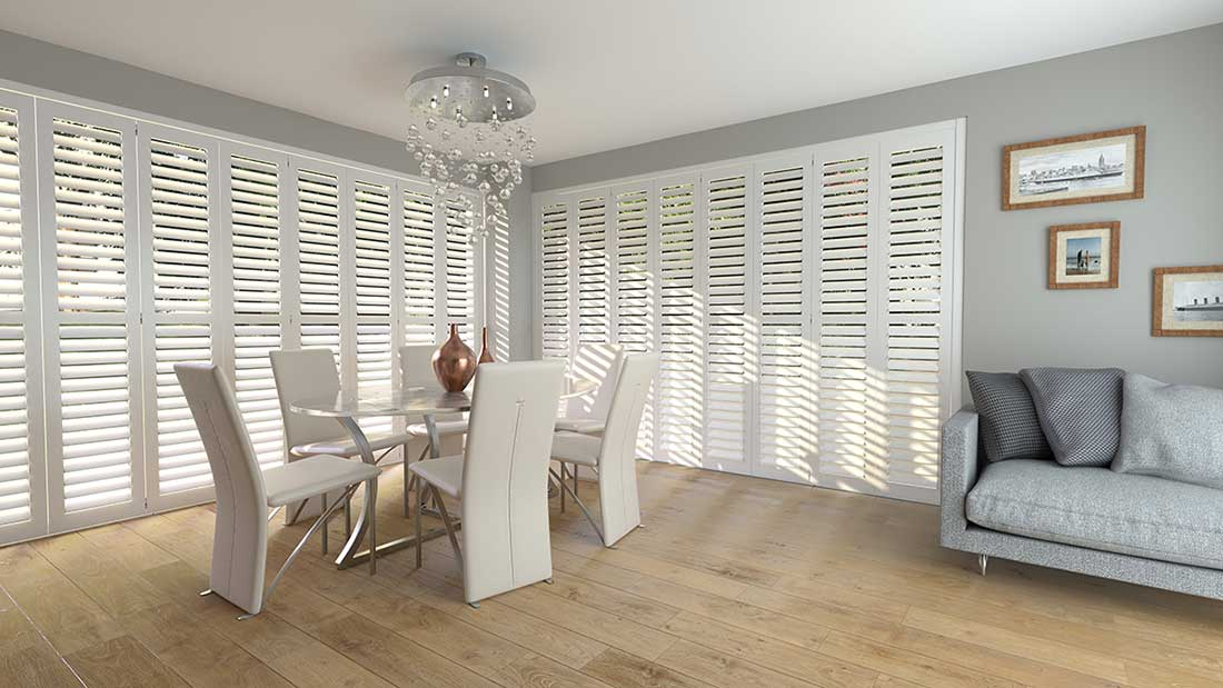 Tracked Shutter - shutters for windows