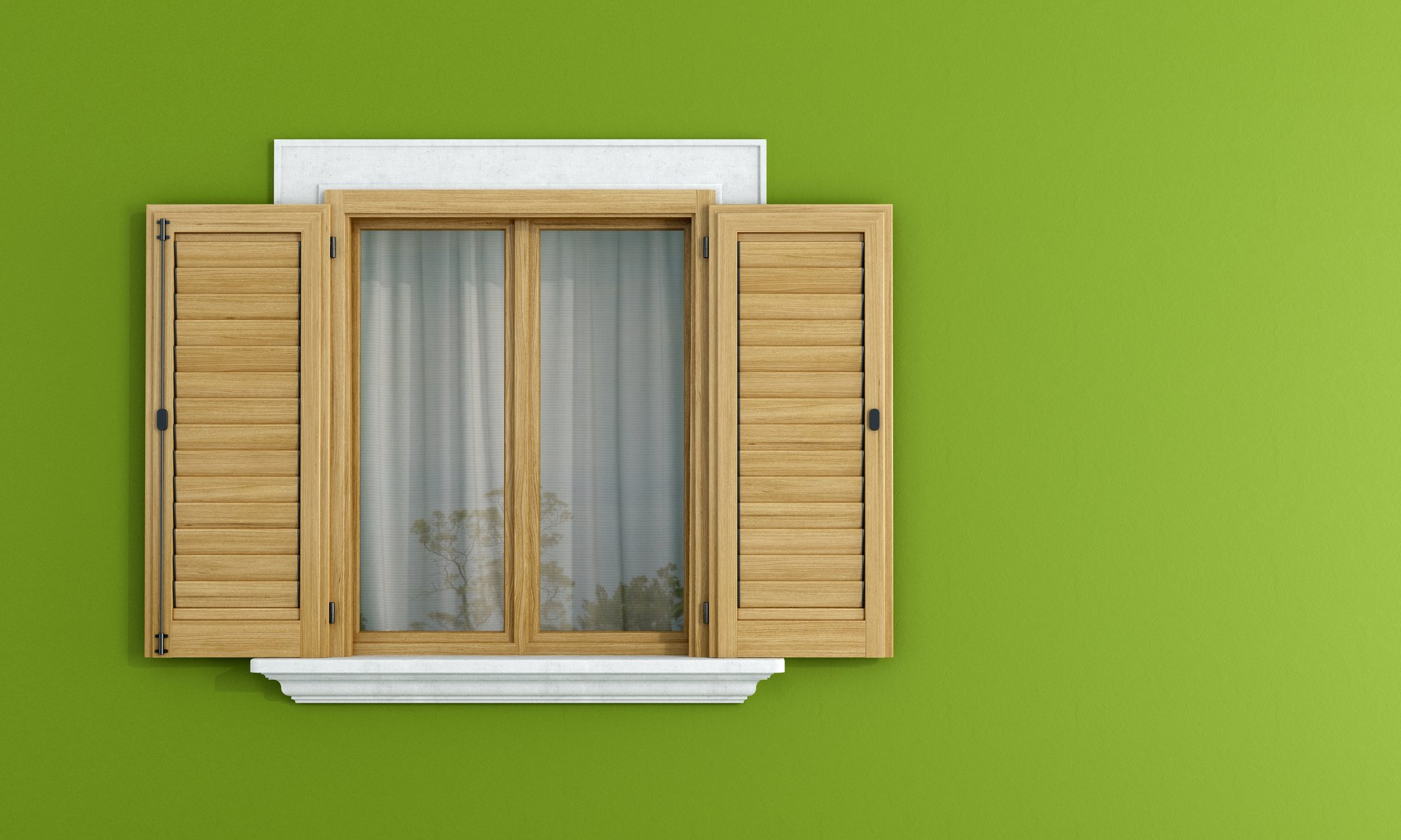 window shutter installation